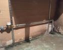 reperation efter stikledningsbrud i væg