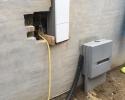 nyt hus hvor vandstikket står inde i ydermuren